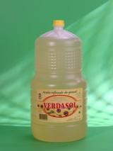 VERDASOL Girasol 5l.Aceite de Girasol Rdo., formato de garrafa de 5 l. polietileno.